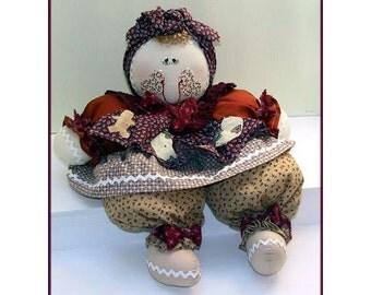 Ginger Handmade Gingerbread Doll