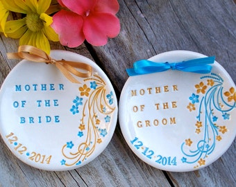 Gift Dish - Mother of the Bride - Mother of the Groom - Gift for Parents -Wedding Keepsakes & Mementos - Gift for Parents - Gift for Mothers