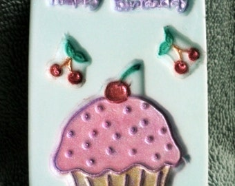 Happy Birthday Soap - Birthday Gift, Teacher gift, Cupcakes, Gift Ideas
