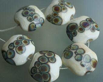 Mossy Path - Handmade Lampwork Beads Set (SRA)
