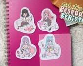 Bedroom Series - Sticker Pack