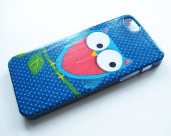 Lovely Owl iPhone 3, 4/4S, 5/5S/SE, 5C, 6 or iPod Touch Case - Decorative Phone Cover