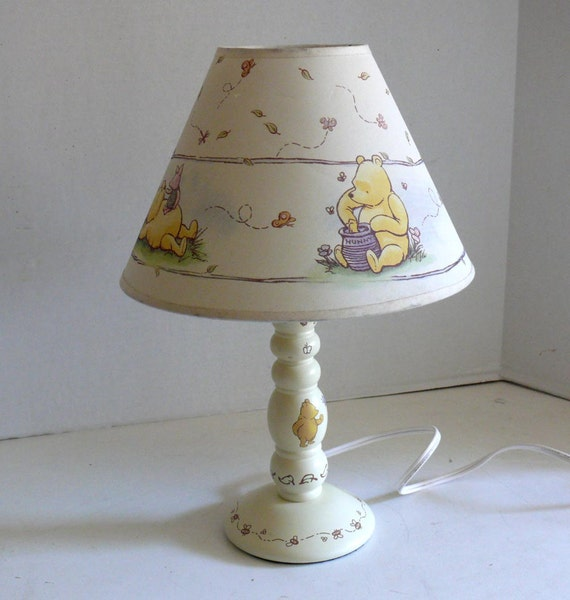 Child Bedside Lamp Winnie The Pooh Bedroom Lamp