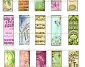 Digital Collage Sheet 1 x 3 Inch - DP17