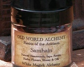 Samhain . Resins of the Ancients. Old World Alchemy . For Divination, Spirit and Ancestral Connnections
