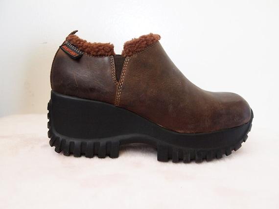 Rocket Dog Vintage 90s Platform Hiking Boots By
