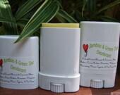 TRAVEL SIZE DEODORANT -- Bamboo Green Tea Scent