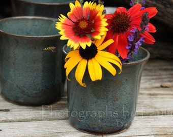 Rustic Blue Tumbler CLEARANCE SALE