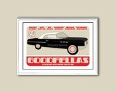 Goodfellas 18x12 inches movie poster