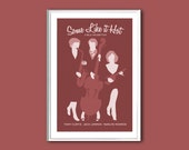 Movie poster Some Like it Hot 12x18 inches retro print