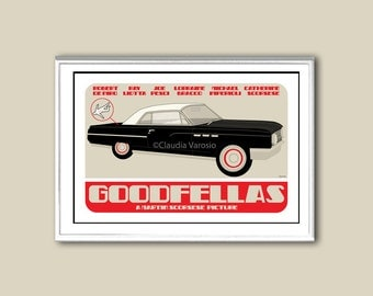 Goodfellas movie poster in various sizes