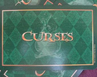 Harry Potter Curse Cards