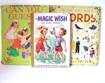 The Magic Wish and Other Stories Vintage Book 40s