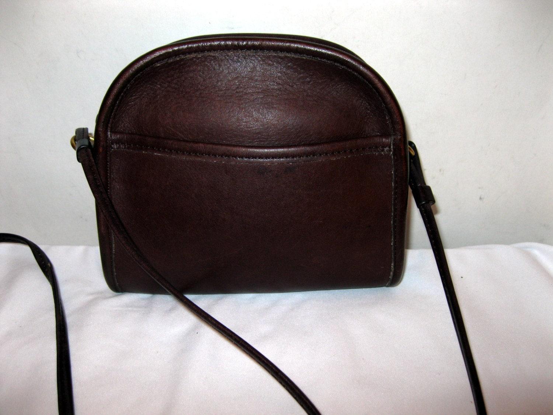 COACH sm sling bag purse brown gen glove tanned by BagsBabylon