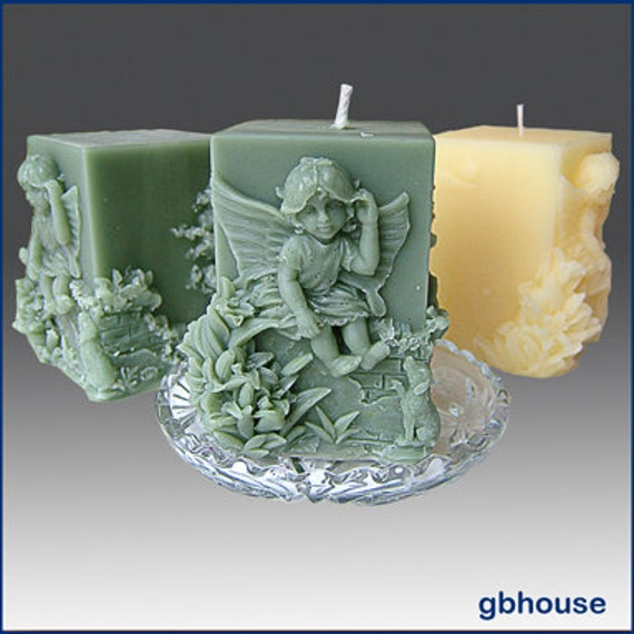 2 candle mold
