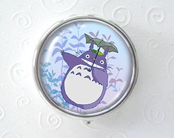 The Great Flight - Tonari no Totoro -  original art pill box - single or triple compartment