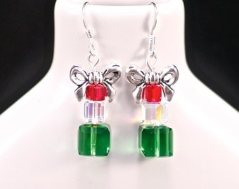Perfect Gift Earrings (E554) - Swarovski Crystal & Sterling Silver