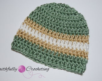 Newborn Boy Beanie... Ready to Ship