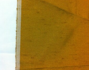 "Gold Drapery Fabric 47"" wide 1 yard 7"""