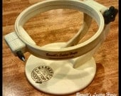 Barnett's Flip Up Hoop is great for cross stitch or other needle arts