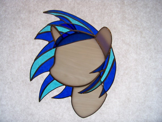 My Little Pony Vinyl Scratch Stained Glass Suncatcher Fan-Made