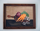 Original oil painting - vegetables