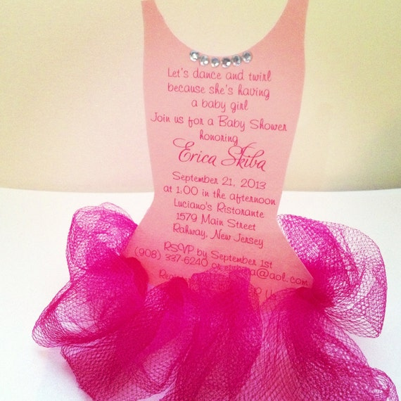 ballerina invitations by anaderoux on etsy