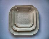 Unglazed Celtic Dinnerware Set # 4 ---Custom Order