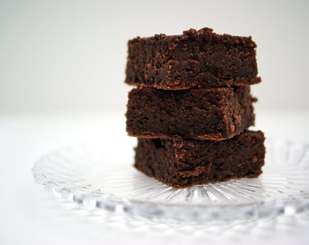 Gluten and Dairy Free Black Bean Brownies