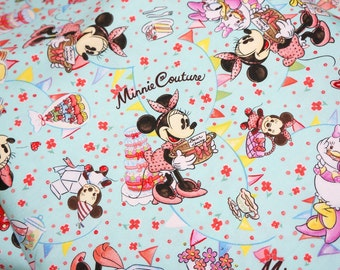 Special price 1 Disney Cartoon  Minnie Couture   Print Japanese fabric