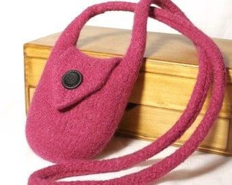 Knitting Pattern Felt Shoulder Bag Laila