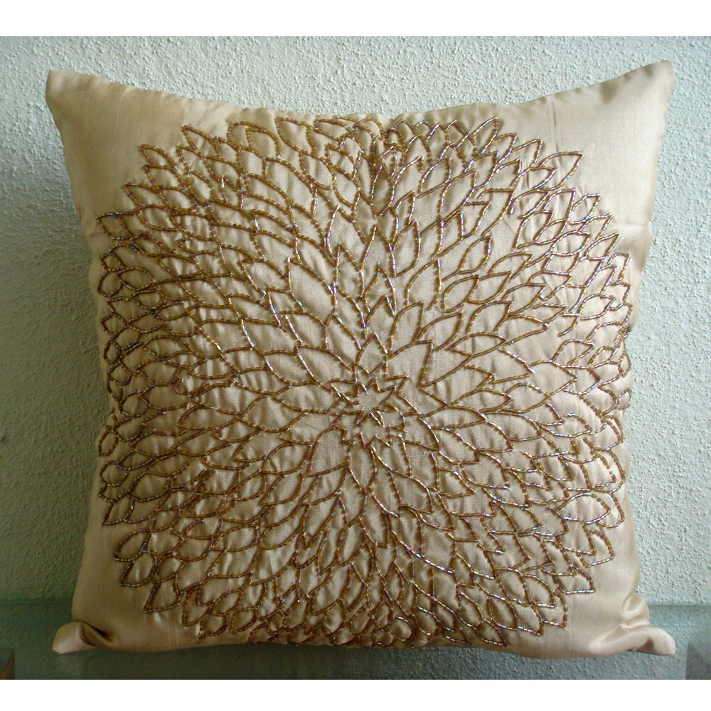 gold sofa pillows
