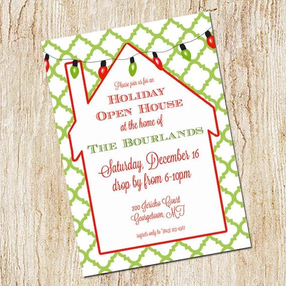 items similar to holiday party invitation