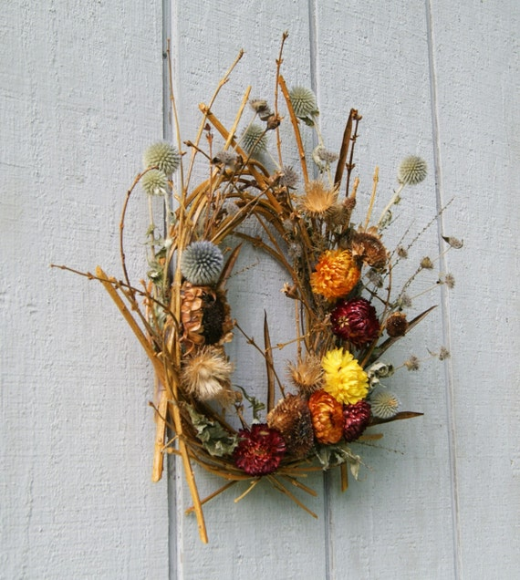 Strawflower Fields Wreath Like this item