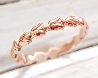 Tulip Ring (14K rose gold)