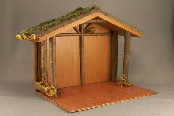 How To Build Wood Nativity Stable Pdf Woodworking