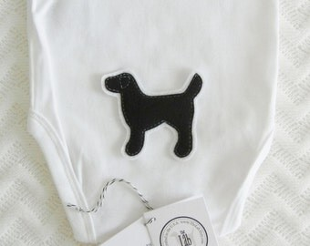 Black Lab Bodysuit - FREE Lab Collar Customization