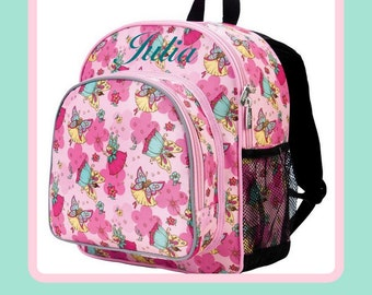 Personalized Backpack - Fairy - Monogrammed