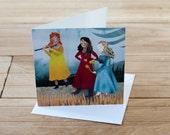 BOGOF SALE Damsels Greetings Card