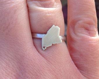 Maine Sweetheart  Ring