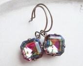 Vintage Jewel Earrings - Northern Lights