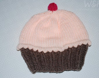 Toddler Cupcake Hat