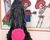 Vintage Day of the Dead VIRGIN Shrine-  Perfect for your Altar