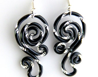 Spiral Waves Hypo Allergenic Earrings