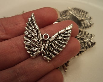 Wing Charms - Set of 4 - #WG107
