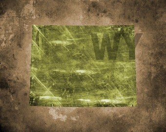 Wyoming Texture - Digital Download