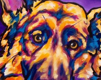 11x14 print German Shepherd