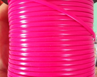 1 Meter of Neon Magenta rexlace, perfect for adding to dread falls