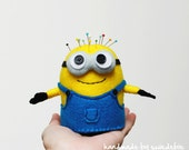 Despicable Me Minion (2-Eyed) - Felt Pincushion