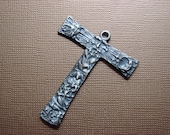 Tau Cross of Healing  a Life  Stanti Francis Franciscan  Tau Cross solid sterling silver